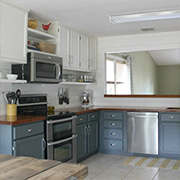 Tips for a painted kitchen