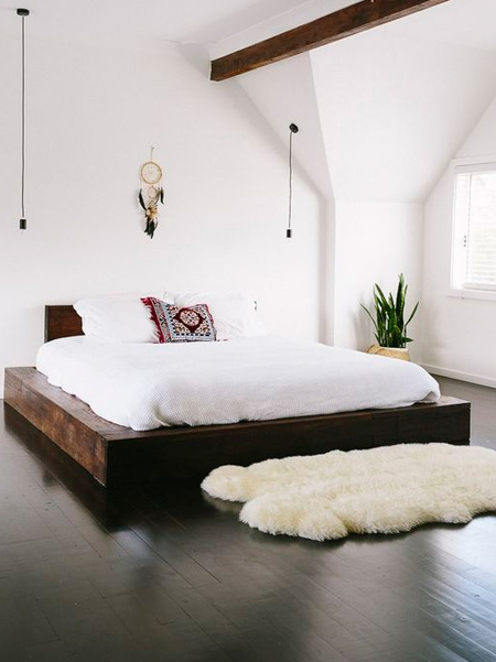 What is a platform bed: A platform bed is just that - a platform of varying height upon which your bed rests rather than upon a box spring or similar support and bed frame. These have gained popularity due to the surge of memory foam purchases that usually require more of a flat surface for proper support and warranty issues.