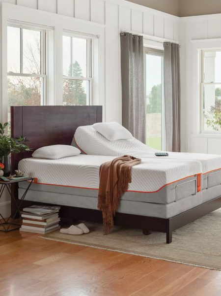 What is an adjustable bed: Adjustable bed platforms aren't just for hospitals anymore. Ergonomic mattress bases have become more and more popular to help customize your sleep and provide support exactly where you need it. Typically these can only be used with a foam mattress due to their ability to flex more readily.
