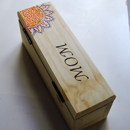 Home Dzine Craft Ideas Wooden Box For Mothers Day