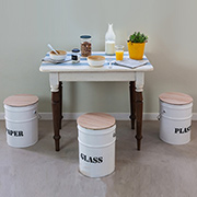 Paint can stools