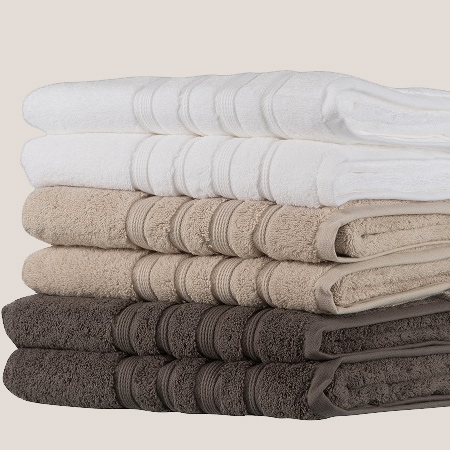 Vencasa Egyptian Cotton 600GSM Towels are made from the finest quality 100% Egyptian Cotton. This extra-long cotton ensures a luxuriously soft and ultra absorbent towel and that can last a lifetime.