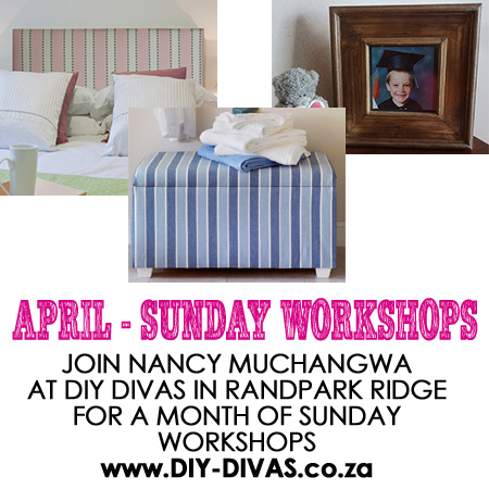 diy divas workshops on saturday and sunday morning