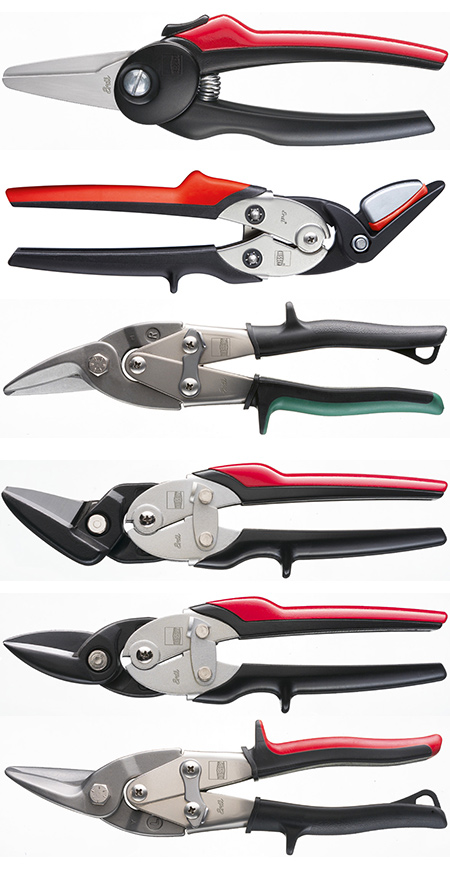 Bessey - largest range in quality metal snips distributed by Vermont Sales