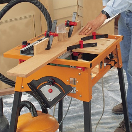 I have had my router table for just over a year and have reached the stage where I couldn't live without it - or use a conventional router.