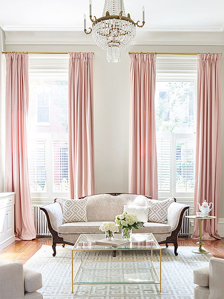 Home dzine home decor add a touch of rose gold for Living room ideas rose gold