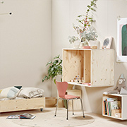 Use pine for DIY furniture for a child's bedroom