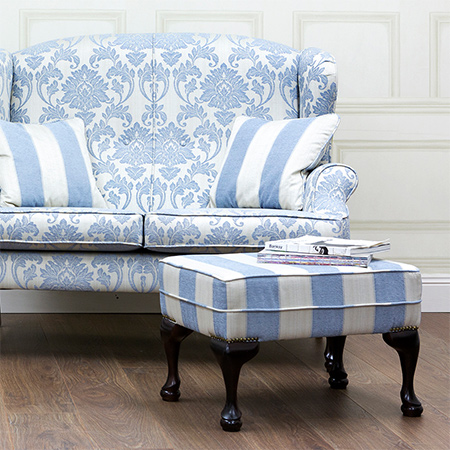 If you enjoy making your own occasional furniture, such as an upholstered ottoman or stool, choose legs that complement or match the legs on furniture already in the room.