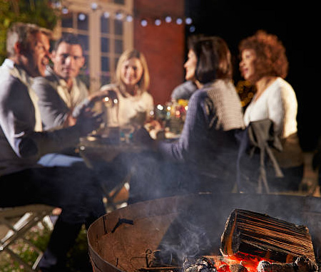 Don't let winter drive you indoors. If you don't already have a fire pit, perhaps it's time to plan and build one