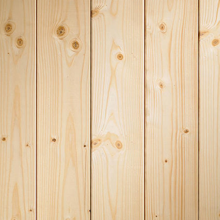 Pine, like any soft- or hardwood, can be stained and sealed, or varnish, to change the look. You can also paint pine for a variety of projects. Note that when painting pine, a suitable wood primer should be able to prevent 'bleed'.