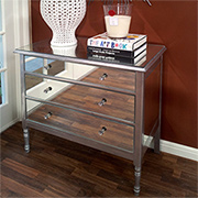Make a mirrored chest of drawers