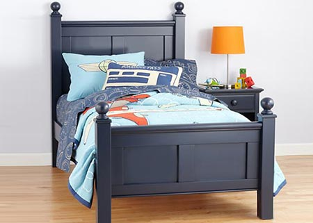 Colonial Bed for boys and girls - Design-A-Bed