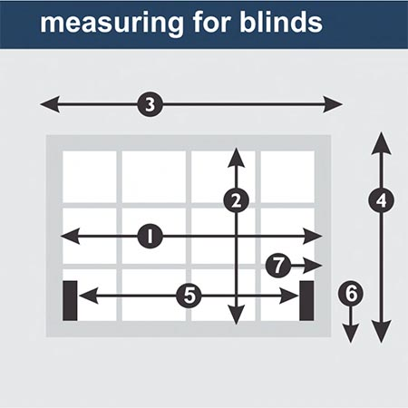 MEASURE UP FOR BLINDS