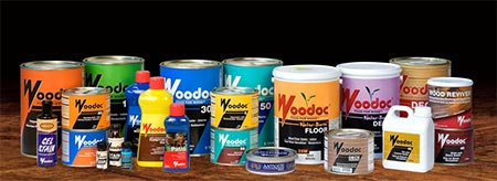 As soon as you notice the finish on  wood furniture becomes dull, it's time to grab a can of Woodoc at your local Builders or hardware store to nourish and protect.