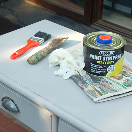 Painting wood furniture is an easy fix to change the look of dark wood, but it's not a permanent one. Today's range of paint strippers easily remove painted finishes.