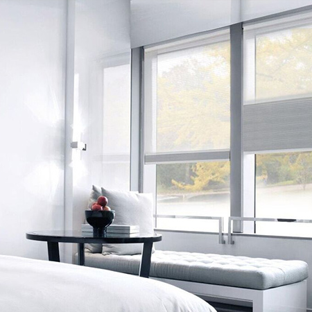 Honeycomb blinds are fast becoming a popular choice when looking for a window covering, thanks to their unique qualities, refreshing style and versatility. Honeycomb blinds are extremely durable, energy efficient, and provides superior insulation.