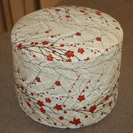 HOME DZINE Home DIY | Make a circular ottoman