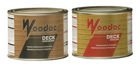 HOME-DZINE | Deck Ideas - Finishing also includes applying a Woodoc deck sealer to the finished deck, unless you plan to let it age naturally. If you're using a softwood or medium-hardwood such as pine, meranti or saligna, these require regular application of a suitable exterior deck sealer.