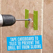 Quick Tip: Drilling Into Tiles