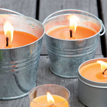 HOME-DZINE | Keep Mozzies Away - Citronella is a well known, natural mosquito repellent and lighting a citronella candle is the easy way to keep bugs at bay. Place 4 or 5 citronella candles on your table to not only keep bugs at bay, but also to add a soft ambience to your next outdoor get together.