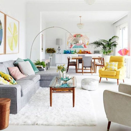 HOME-DZINE | Decorating Tips - Exercise restraint when decorating an entire house - let the colours flow from room to room and stick to a single style to avoid overpowering a room.