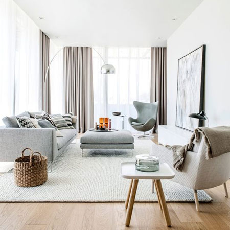 HOME-DZINE | Decorating Tips - Some people love to decorate a room with a monochromatic colour scheme, or perhaps a neutral palette, but it's important to ensure it doesn't become one dimensional and flat.