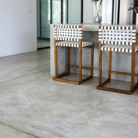 "HOME-DZINE | Concrete Floors - The most asked question when it comes to concrete floors is...""Will it crack?"" The honest answer is ""Yes"" but with the exception of hairline cracking, cracks can be reduced."