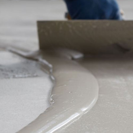 HOME-DZINE | Concrete Floors - Where contractors add too much water to make working with the cement product easier, this causes excessive evaporation of the excess water, leading to excessive shrinkage, which results in cracking and also affects the overall strength of the concrete.