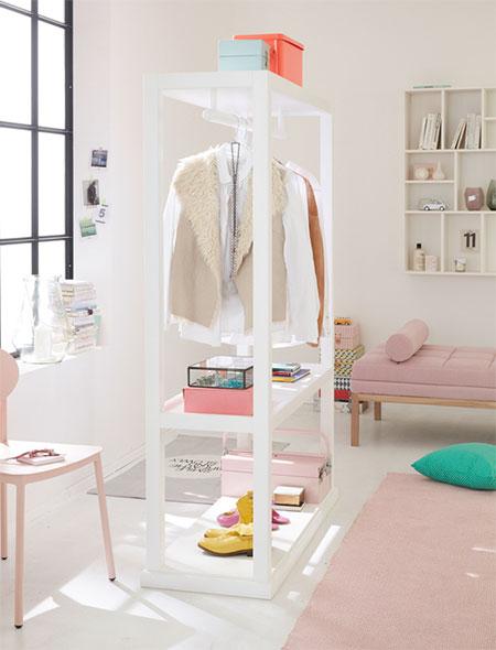 home dzine home diy mobile clothes rail. Black Bedroom Furniture Sets. Home Design Ideas
