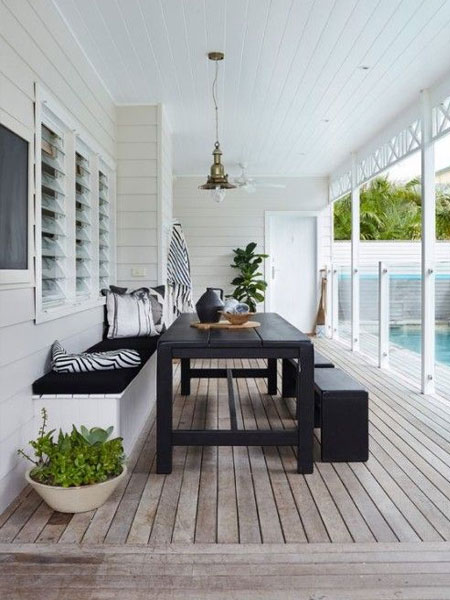 HOME-DZINE | DIY Deck - The Internet is filled with ideas and inspiration for building a deck, whether a small deck to add a comfortable seating area to your outdoor space, to a full-on deck for entertaining and outdoor living. Whatever deck you have in mind, we offer a few tips on what to consider when building a deck.