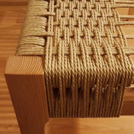 HOME-DZINE - Weave with Danish cord - If you're looking for a new hobby, or have a passion for restoring furniture, then weaving with Danish cord might be the perfect craft for you.