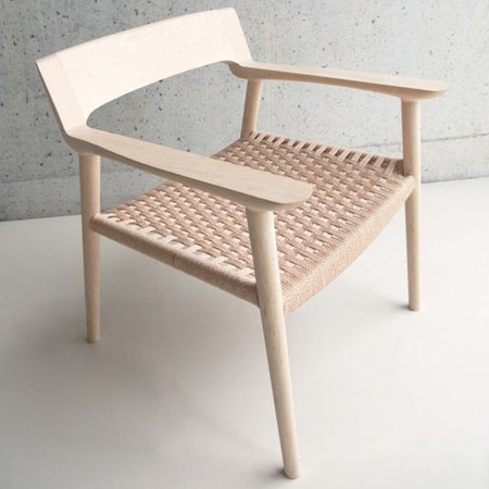 HOME-DZINE | Ideas for weaving with Danish Cord - Danish design chair