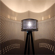 Washing machine drum lamp