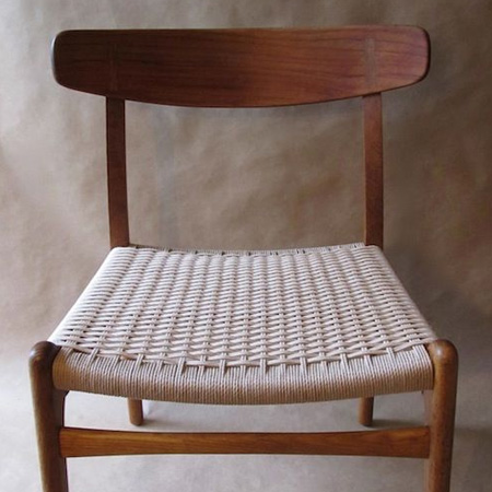 HOME-DZINE | Ideas for weaving with Danish Cord - chair in Danish design