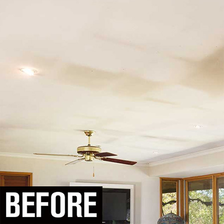 HOME-DZINE | Paint Ceiling - When redecorating a home it's easy to overlook the ceiling, but ceilings need refreshing just as much as walls. Prominent Paints offer some practical tips on painting a ceiling.