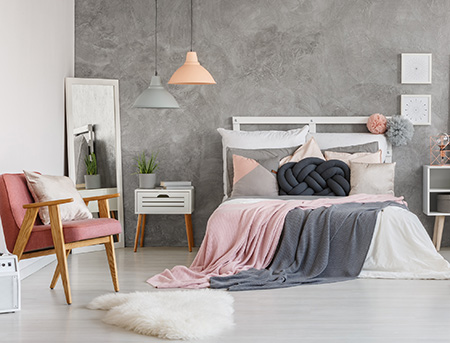 HOME-DZINE | Headboard Ideas - Make a simple, stylish headboard with pallet wood or pine. Modify the length to make a headboard to fit any size bed.
