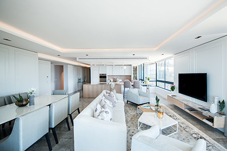 HOME-DZINE | Interior Design - Award-winning design studio Inhouse was commissioned by the Berman Bros Group (BBG) to design the interiors of a series of two- and three-bedroom apartments situated in a new luxury development located on St John's Road in Sea Point, Cape Town.