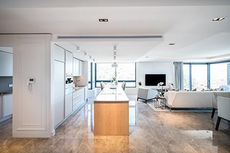 HOME DZINE | Interior Design   Inhouse Created Two Distinct Styles