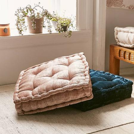 Home Dzine Make French Tufted Mattress Floor Cushions