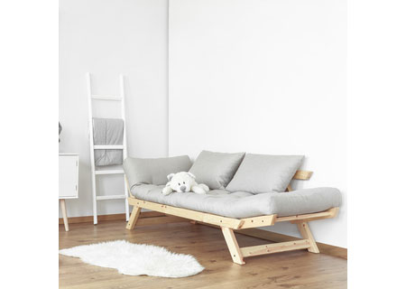 HOME-DZINE | Childrens Furniture - Design-A-Bed childrens sleepover sofa bed in natural pine with waxed finish