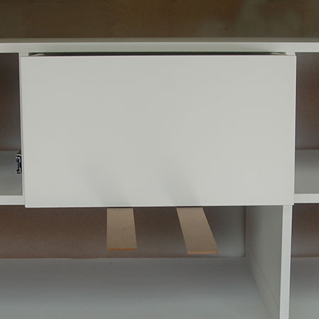 HOME-DZINE | Fit Drawer Runners - The spacers ensure the drawer doesn't stick once mounted, and the drawer itself should be assembled to allow for the runners on the side, the 3mm gap at the bottom and a 1 or 2mm gap at the top.