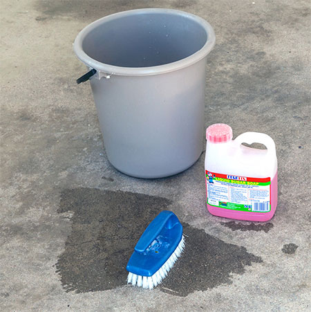 HOME-DZINE | Chalk Paint - When painting an unsealed concrete floor, prime it with plaster primer or simply paint straight onto the clean surface with chalk paint.