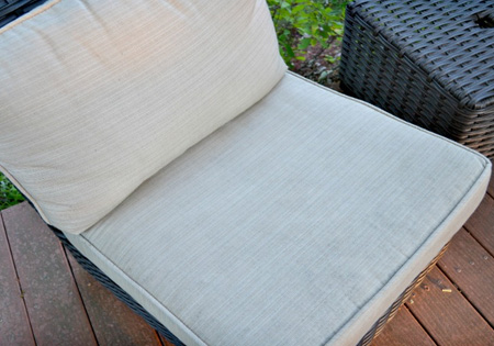 HOME-DZINE | Cleaning Tips - Your patio cushions will be clean and fresh. The Borax kills mould and mildew spores and hygienically cleans the fabric and it also gets rid of odours.