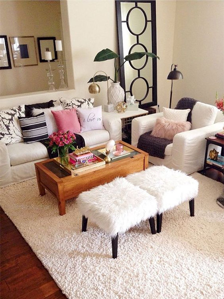 HOME-DZINE | DIY Projects - There are a variety of ways to furnish your apartment and still have a great looking place -  without having having to spend a fortune - and we offer some tips for decorating your first home and saving money in the process
