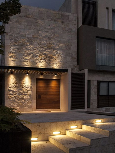 HOME-DZINE - Garden Lighting - In most cases you will only light those areas you use at night, such as driveways, paths and walkways, but you can use ambient lighting, such as lanterns on posts or attached to the sides of walls, to softly bathe these areas with light.