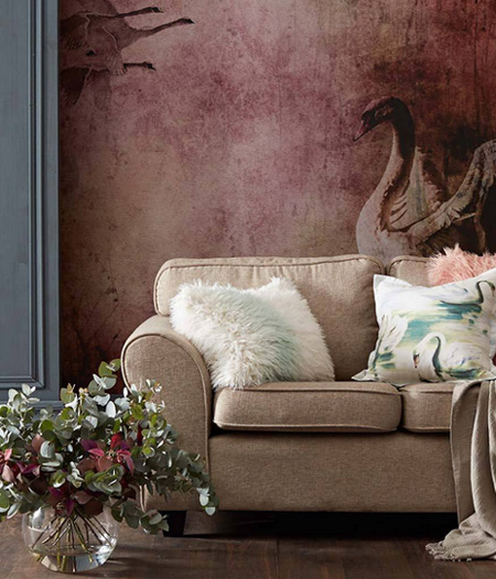 HOME-DZINE | Spring and Summer Trends - There are a couple of trends that are making the rounds this year; from muted shades of pink and blue, to Moroccan-inspired patterns and colours.
