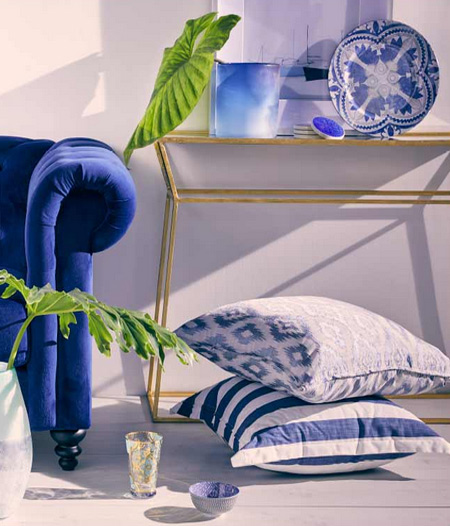 HOME-DZINE | Spring and Summer Trends - If you prefer a more vibrant colour palette for the home