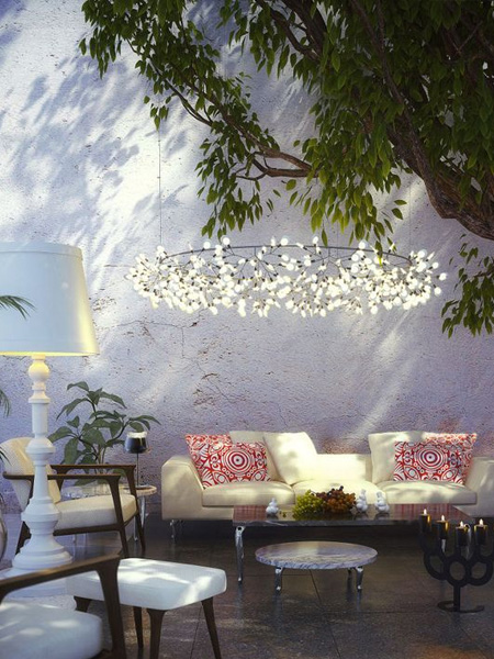 HOME-DZINE - Garden Lighting - There are so many pretty solar lights in different shapes and colours to choose from, though remember that they are decorative and not really suitable as ambient or task lighting.