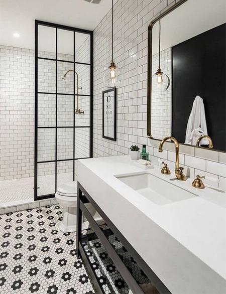 Home Dzine Bathrooms Classic Black And White Bathrooms