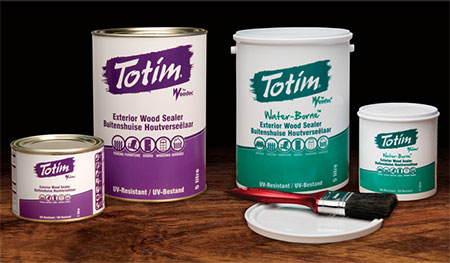 Check out the Woodoc Totim range of exterior sealers - available at Builders and hardware stores countrywide.